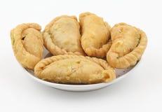 Alimento do doce de Gunjiya foto de stock