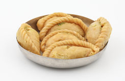 Alimento do doce de Gunjiya imagens de stock