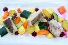 Alimento do gourmet Grupo da refeição Imagem de Stock Royalty Free