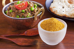 Alimento do Indian do caril fotografia de stock royalty free