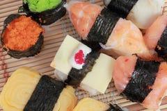 Alimento do japonês do sushi Foto de Stock Royalty Free