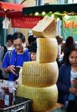 Alimento do mercado - queijo parmesão Imagem de Stock
