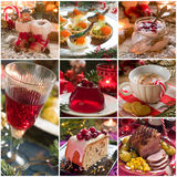 Alimento do Natal imagens de stock royalty free