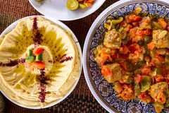 Alimento do Oriente Médio fotografia de stock royalty free