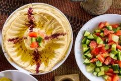 Alimento do Oriente Médio imagem de stock