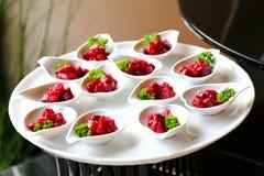 Alimento do partido dos aperitivos Imagem de Stock Royalty Free