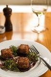 Alimento do restaurante Fotos de Stock Royalty Free