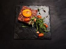 Alimento do restaurante da refeição dos produtos crus imagem de stock royalty free