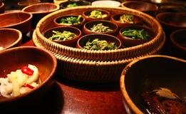 Alimento do templo em Seoul, Coreia Imagens de Stock