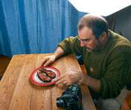 Alimento do tiro da foto Foto de Stock Royalty Free