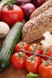 Alimento do vegetariano Foto de Stock Royalty Free