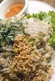 Alimento do vietnamese do xao do bolo imagem de stock royalty free