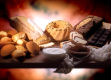 Alimento doce Imagens de Stock