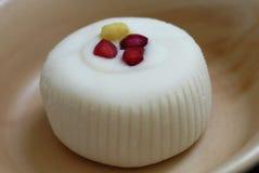 Alimento dolce bianco dell'indiano di Peda fotografie stock libere da diritti