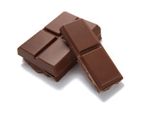 Alimento dolce dello zucchero del desseret della barra di cioccolato Immagini Stock Libere da Diritti