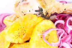 Alimento domenicano Chiuso-in su Fotografia Stock Libera da Diritti
