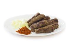 Alimento dos Balcãs Fotos de Stock