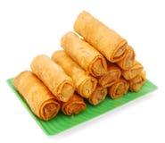 Alimento dos Egg-rolls imagem de stock royalty free