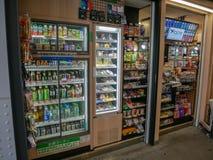 Alimento e bebida no Tóquio Japão fotografia de stock royalty free