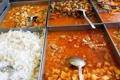 Alimento e minestra turchi tradizionali Fotografie Stock Libere da Diritti
