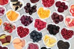 Alimento eccellente antiossidante sano fotografie stock libere da diritti