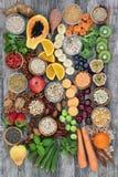Alimento eccellente dell'alta fibra sana Fotografie Stock