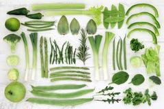 Alimento eccellente verde fresco Fotografia Stock