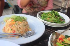 Alimento em Koh Samui Fotografia de Stock