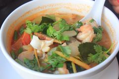 Alimento em Koh Samui Fotos de Stock
