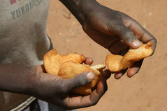 Alimento em Sudão Imagens de Stock