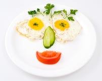 Alimento engraçado Fotografia de Stock
