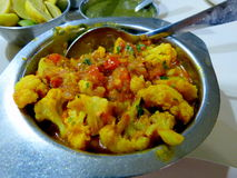 Alimento excelente na Índia de Mumbai Imagens de Stock