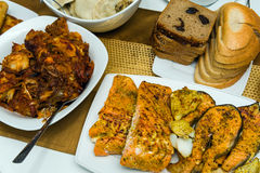 Alimento fatto domestico tradizionale di Natale Immagini Stock Libere da Diritti