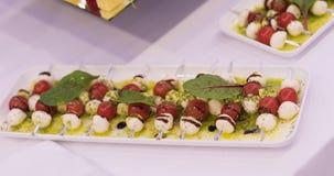 Alimento festivo bonito Um entretenimento para convidados Imagem de Stock Royalty Free