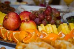 Alimento festivo della frutta fotografie stock