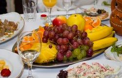 Alimento festivo della frutta immagini stock