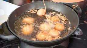 Alimento filippino Tokneneng della via Fotografie Stock