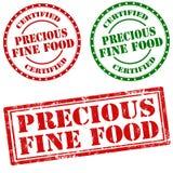 Alimento fine prezioso Fotografia Stock