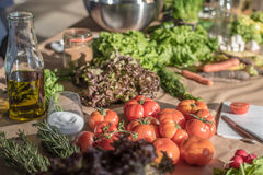 Alimento fresco Fotografia Stock Libera da Diritti