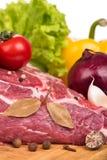 Alimento fresco crudo Immagini Stock Libere da Diritti