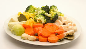 alimento fresco de vegetable Fotografía de archivo libre de regalías
