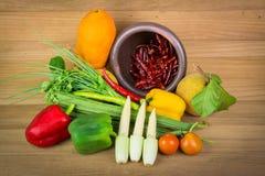 alimento fresco de vegetable Foto de archivo libre de regalías