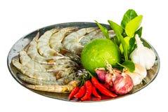 Alimento fresco degli ingredienti Fotografia Stock