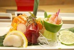Alimento fresco dei sushi Immagini Stock