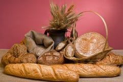 Alimento fresco del pan Imagen de archivo libre de regalías