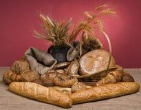Alimento fresco del pan Foto de archivo libre de regalías