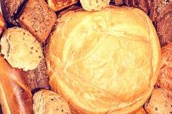 Alimento fresco del pane per la prima colazione Immagini Stock