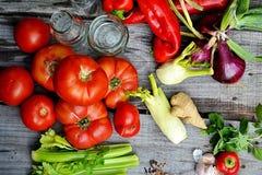 alimento fresco di vegetable Fotografie Stock