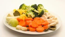 alimento fresco di vegetable Fotografia Stock Libera da Diritti