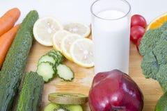 Alimento fresco e sano Fotografie Stock Libere da Diritti